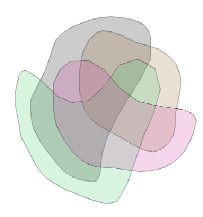 euler diagrams overviewthis diagram is venn   the venn diagram    contours   drawn   non convex contours  this diagram can be drawn   convex shapes