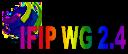 IFIP WG 2.4 logo